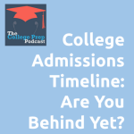 College Admissions Timeline