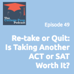 Re-take or quit: Is another ACT or SAT worth it?